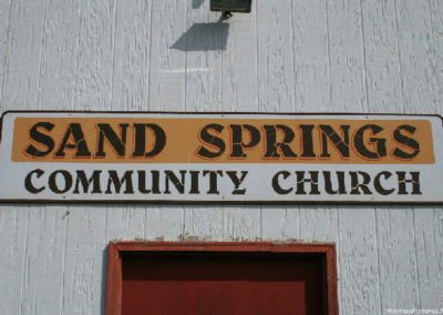 60610 sand springs 0802 sign_MontanaPictures_Net