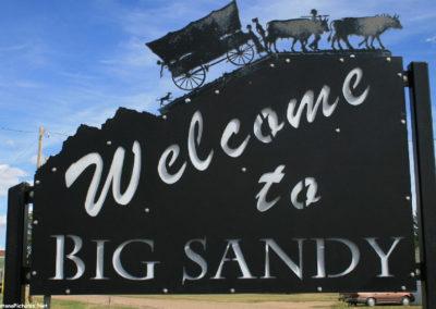 60610 virgelle 9059 big sandy sign_MontanaPictures_Net