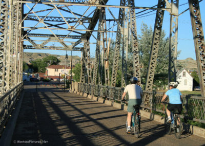 62607 glendive bell st bridge bikes 0751_MontanaPictures_Net