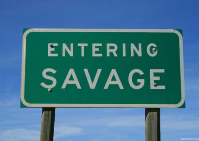 62811 savage highway 7698 sign_MontanaPictures_Net