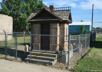 71711 terry museum rr outhouse 1208_MontanaPictures_Net
