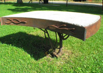 92504 lewis lab garden bench_MontanaPictures_Net