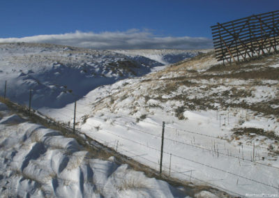 11307 wsss snowfence 1138_MontanaPictures_Net