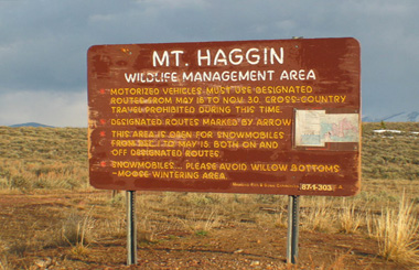 Mount Haggin WMA Montana Picture Tour