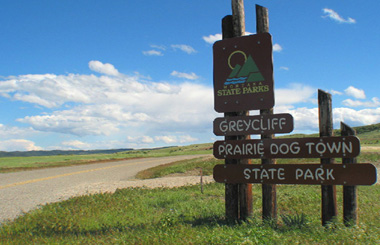 Greycliff Prairie Dog Town State Park Picture Tour – MontanaPictures.Net