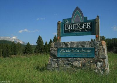 80708 bridgers ski 4536 sign_MontanaPictures_Net