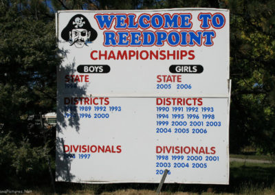 92717 reed point sign 5958 sports_MontanaPictures_Net