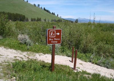 62007 big hole camp sign 3810_MontanaPictures_Net