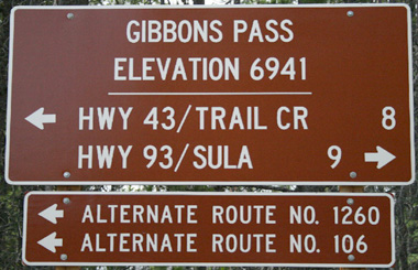 Gibbons Pass Montana – MontanaPictures.Net